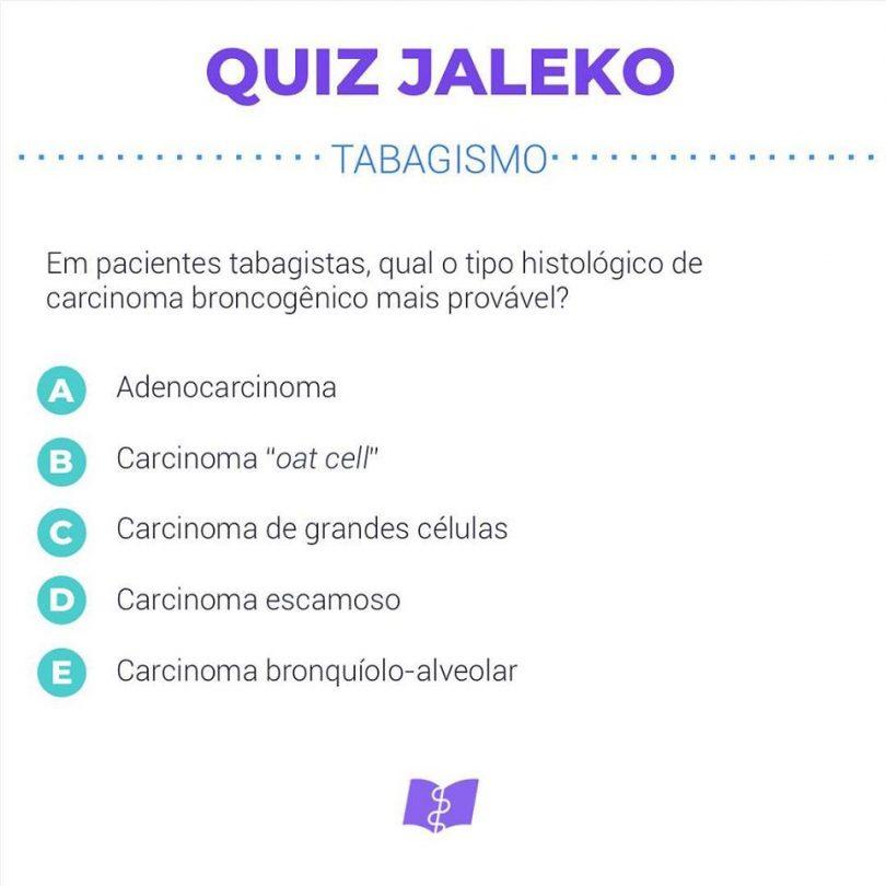 Quiz Jaleko: Tabagismo