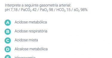 Quiz Jaleko: Gasometria Arterial